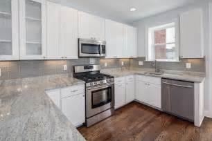 kitchen backsplash diy glass tile
