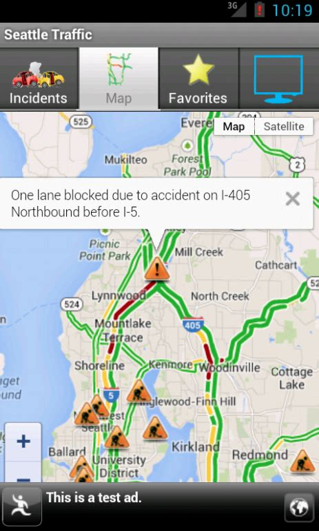 traffic map seattle traffic seattle android apps on play