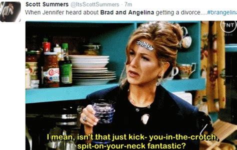 Anniston Thinks Brangelina Are Totally A Joke by Aniston Memes Flood After