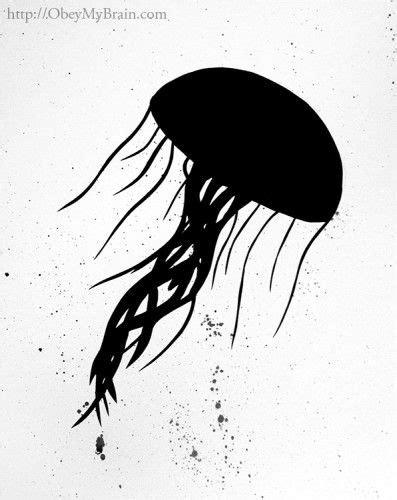 Josh Freeman - Jellyfish #silhouette   Fish silhouette
