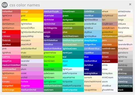 name of color 28 color name color chart with names for kids www