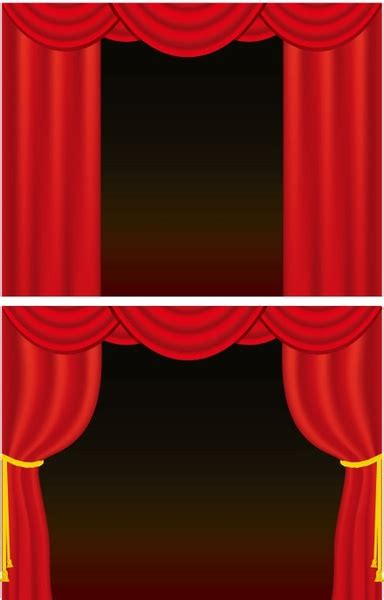 curtain graphic curtain vector free vector in encapsulated postscript eps