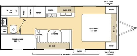 Lakeview Home Plans 2010 coachmen catalina 21bh travel trailer new carlisle