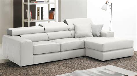 canape cuir haut de gamme canap 233 d angle r 233 versible en cuir blanc haut de gamme