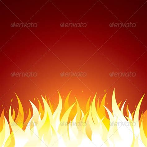 fire background vector template  text  design