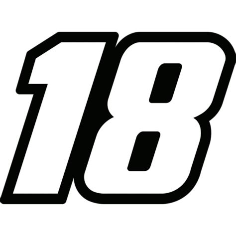 Race Track Wall Stickers fathead kyle busch 18 logo fathead jr wall decal by