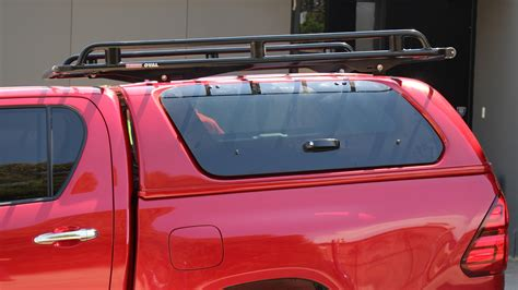 Hilux Canopy Roof Rack by Toyota Hilux Oem Canopy Roof Rack