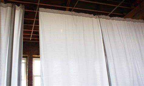 how to make curtains hang straight 25 best ideas about hanging room divider diy on pinterest