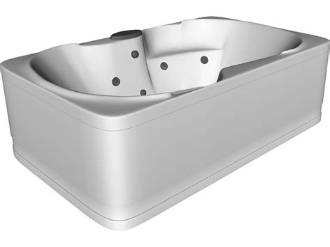 bathtub 3d model 3d cad browser