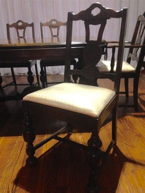 Antique Mahogany Dining Table And Chairs Antique Mahogany Dining Table And 6 Chairs Oklahoma City Home And Furnitures Items For