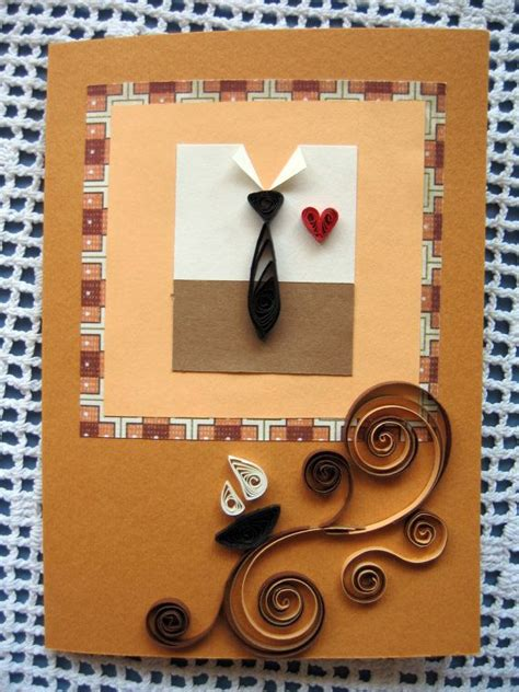 Quilling Birthday Cards For Husband