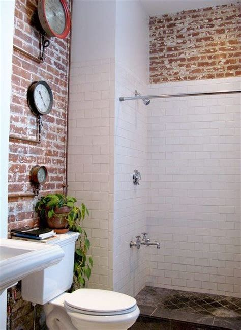 1000 ideas about brick bathroom on pinterest exposed brick bathroom and bathroom flooring
