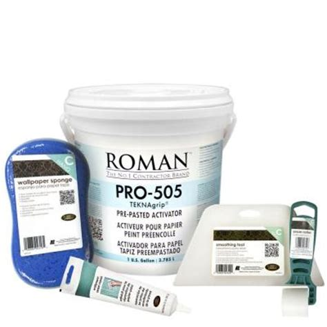 pro 505 1 gal wallpaper adhesive kit for small