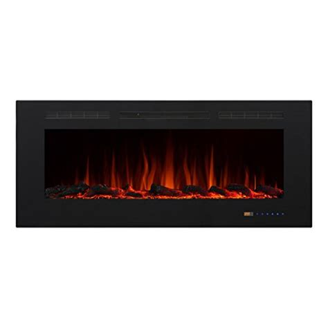 50 Electric In Wall Recessed Fireplace Heater by Valuxhome Armanni 50 Quot 750w 1500w In Wall Recessed