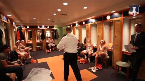 womens locker room illinois basketball vs michigan locker room celebration 2 28 15