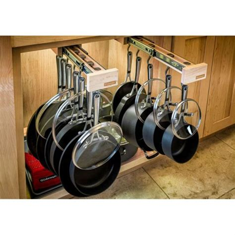 Pot Rack Cabinet by 25 Best Ideas About Cabinet Organizers On