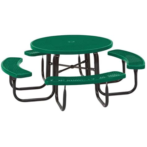 round bench seat round outdoor table with bench seats 358r the furniture