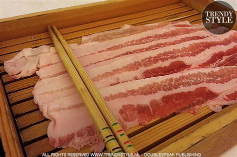 Masker Koken japan koken in collageen een masker binnenuit