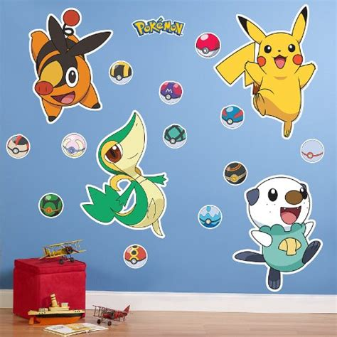 great pokemon and giant wall decals