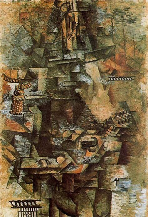 pablo picasso periods analytical cubism the mandolinist 1911 pablo picasso style analytical