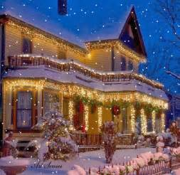 Beautiful Homes Decorated For Christmas Christmas Gif Find Amp Share On Giphy