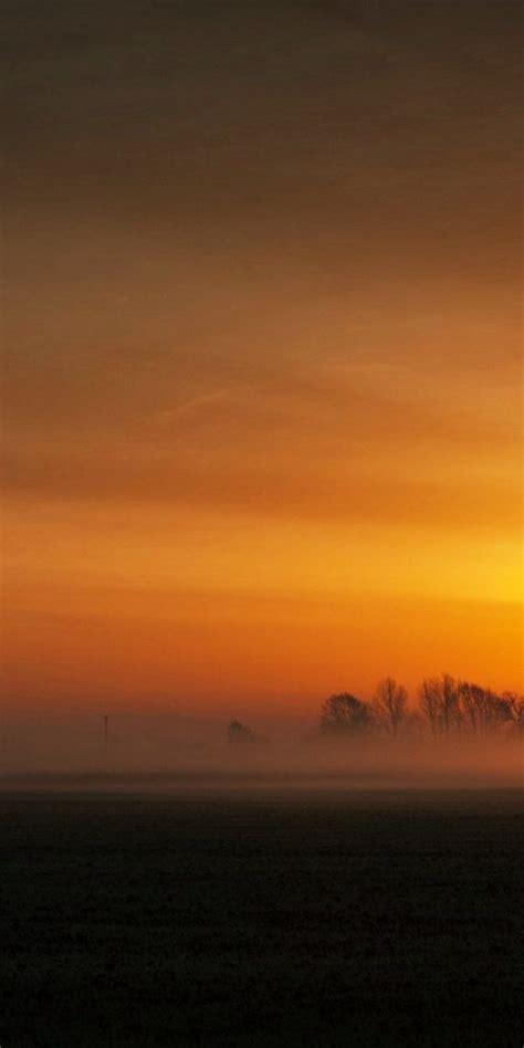 sunset landscape ultra hd wallpaper