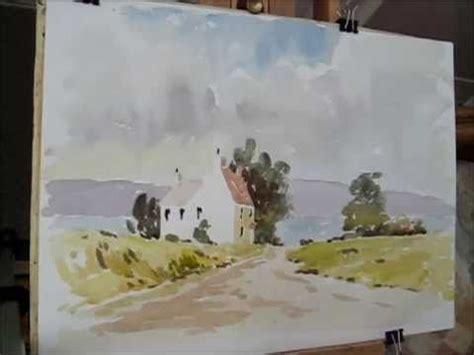 watercolor tutorial alan owen 17 best images about 6 painting landscapes on pinterest