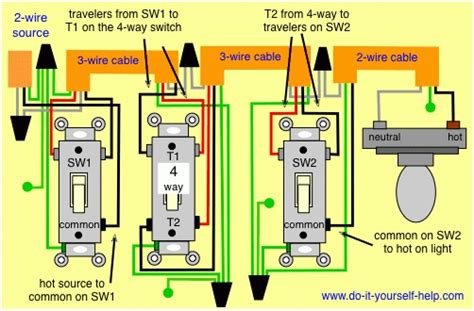 cooper 4 way switch wiring diagram wiring diagram and