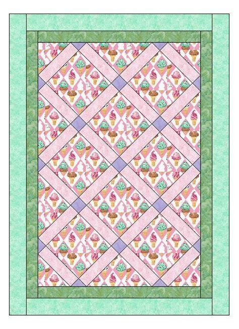 Free Crib Quilt Patterns crib size novelty by quiltingsupport quilting pattern