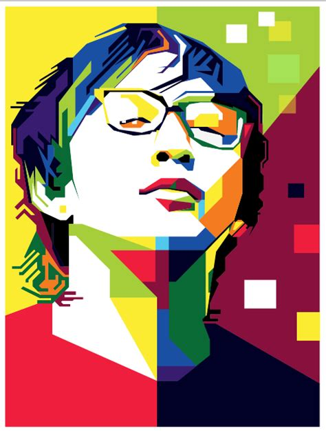 tutorial gambar pop art tutorial wpap dengan photoshop dan illustrator kreativitas