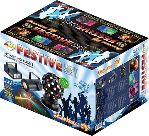 American Dj Festivelt Pakii Instant Light Show Package Light Show Packages