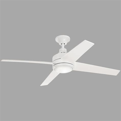 mercer 52 ceiling fan home decorators collection mercer 52 in led indoor white