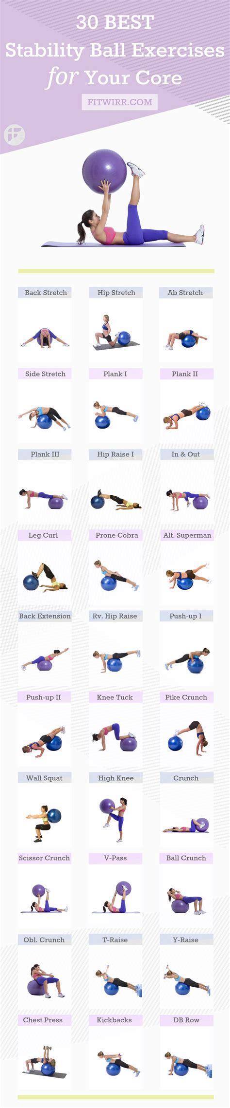 build  stronger body   stability ball louisville