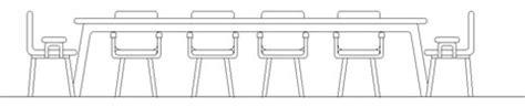 tavolo riunioni dwg tavoli per riunioni in prospetto 4