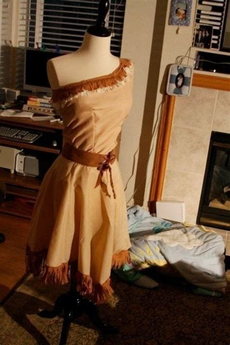 pocahontas costume  princess costume dressmaking
