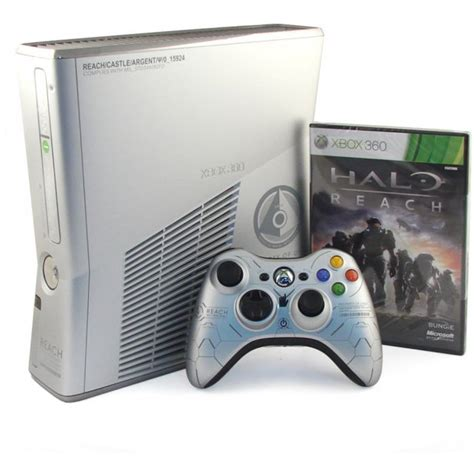 xbox 360 slim 250gb xbox 360 elite slim console 250gb halo reach premium pack