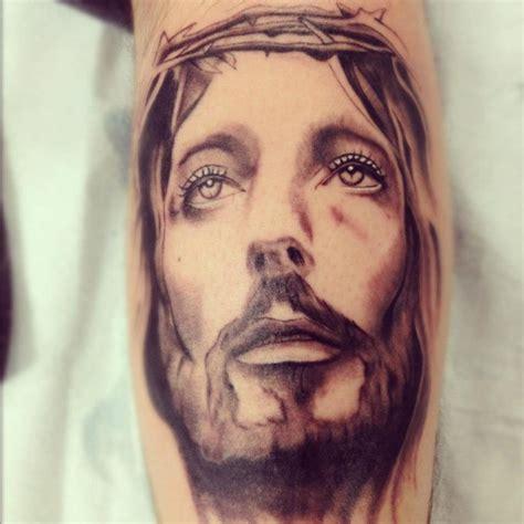 jesus tattoo underarm arm jesus religious tattoo by adrenaline vancity