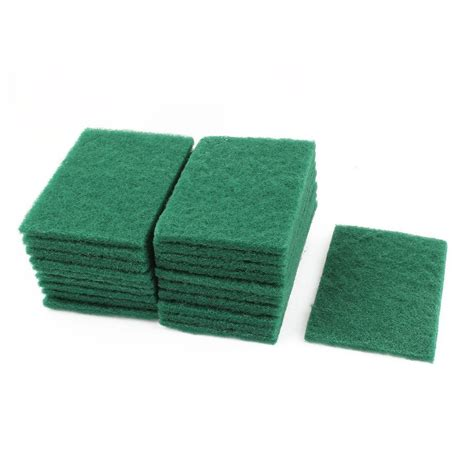 Scrubbing Pad sponge kitchen bowl dishwash clean scrub cleansing pads