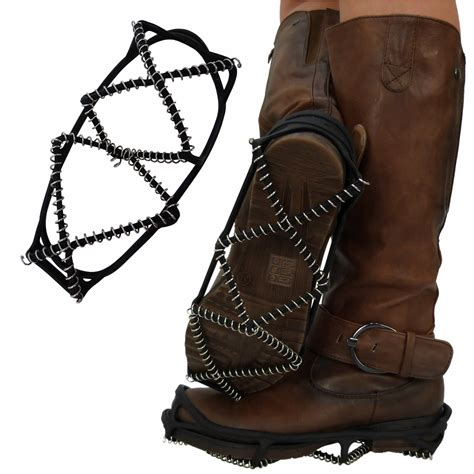 no slip boots g1g new womens mens shoe snow grips grippers
