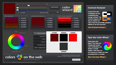 10 tools for creating brilliant color schemes