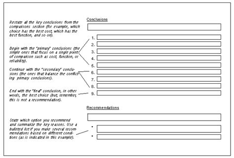 recommendation section of a report online technical writing recommendation and feasibility