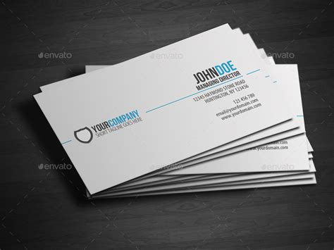 how to make professional cards simple professional business card by glenngoh graphicriver