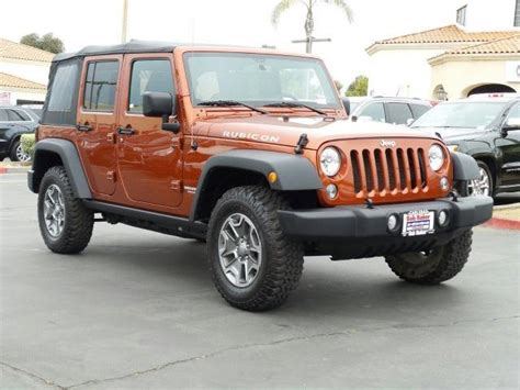 Carlsbad Jeep Jeep Wrangler Unlimited Rubicon Used Cars In Carlsbad