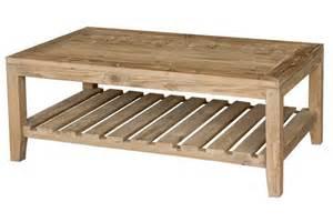 table basse bois pas cher table basse