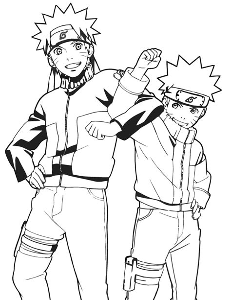 Anime Coloring Pages Naruto | naruto cartoon anime coloring page h m coloring pages