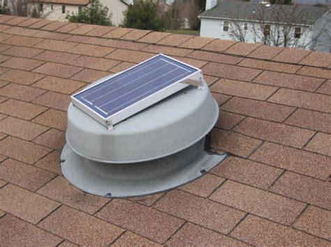 the solar attic vent is better than the passive attic vent