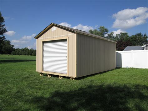 Woods Garage wood garage american sheds