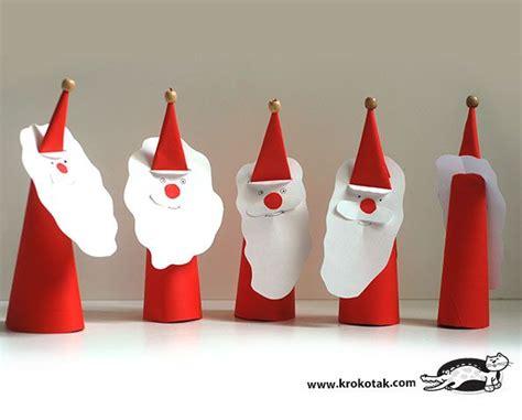 Santa Claus Paper Craft - paper santa claus natal ho ho ho santa