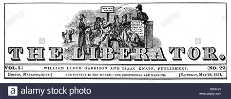 The Liberator by Title Masthead Of The Liberator Stock Photo Royalty Free