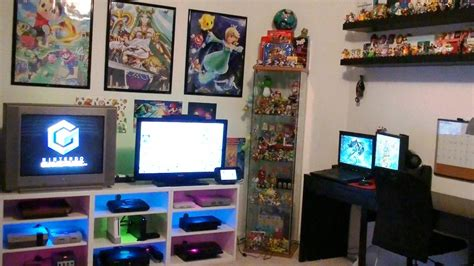 games in the bedroom nintendo gaming room setup tour 2016 youtube